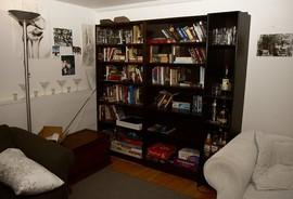 本棚,隠し扉